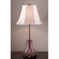 Feiss Barford 1 Light Table Lamp in Aged Tortoise Shell 10199ATS