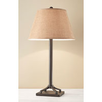 Feiss Signature 1 Light Table Lamp in Oil Rubbed Bronze 10206ORB