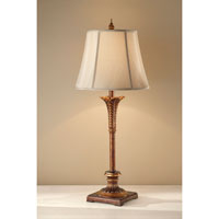 Feiss Signature 1 Light Table Lamp in Merlot 10207MRT