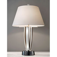 Feiss Signature 1 Light Table Lamp in Polished Nickel 10235PN