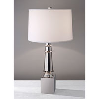 Feiss Signature 1 Light Table Lamp in Polished Nickel 10236PN
