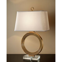 Feiss Signature 1 Light Table Lamp in Venetian Gold 10241VGD