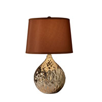 Feiss Signature 1 Light Table Lamp in Rose Gold 10283RSG