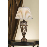 Feiss Opera 1 Light Table Lamp in Firenze Gold 9383FG alternative photo thumbnail