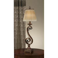 Feiss Independents 1 Light Table Lamp in Firenze Gold 9404FG alternative photo thumbnail