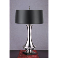 Feiss Independents 1 Light Table Lamp in Mirror Glass 9500MG