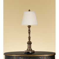 Feiss Independents 1 Light Table Lamp in Autumn Brown 9611AUB alternative photo thumbnail