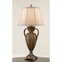 Feiss Ballard Hall 1 Light Table Lamp in Firenze Gold 9722FG alternative photo thumbnail