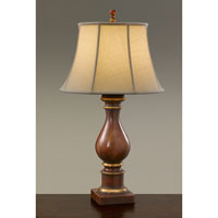 Feiss Maddalyn 1 Light Table Lamp in Modeled Red 9750MRD