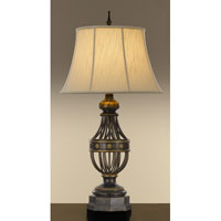 Feiss Augustine 1 Light Table Lamp in Antique Brown 9766ANB