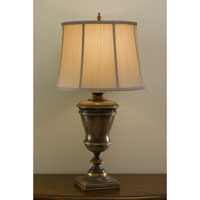 Feiss Broderick 1 Light Table Lamp in Speckled Taupe 9770SPT