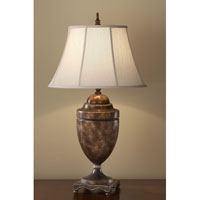 Feiss Gibson 1 Light Table Lamp in Cambridge Crackle 9942CAC