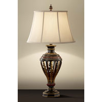 Feiss Heath 1 Light Table Lamp in Ebony and Rubbed wood Finish 9948EBY/RW alternative photo thumbnail