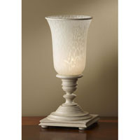 Feiss Zoe 1 Light Table Lamp in Bedpost White 9953BPW alternative photo thumbnail