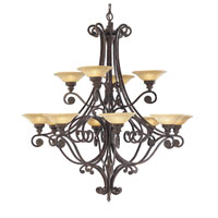 Feiss Casbah 12 Light Chandelier in Palladio F1719/12PAL alternative photo thumbnail
