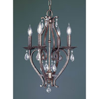Feiss Mademoiselle 4 Light Mini Chandelier in Peruvian Bronze F1800/4PBR alternative photo thumbnail