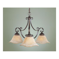 Feiss Tuscan Villa 3 Light Chandelier in Corinthian Bronze F1837/3CB alternative photo thumbnail