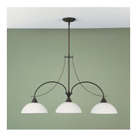 Feiss Boulevard 3 Light Billiard Light in Oil Rubbed Bronze F1886/3ORB
