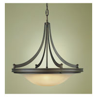 Feiss Pub 4 Light Pendant in Oil Rubbed Bronze F1924/4ORB