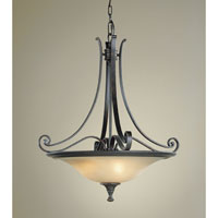 Feiss Cervantes 3 Light Pendant in Liberty Bronze F1931/3LBR