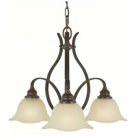 Feiss Morningside 3 Light Chandelier in Grecian Bronze F2049/3GBZ alternative photo thumbnail