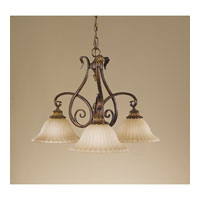 Feiss Sonoma Valley 3 Light Chandelier in Aged Tortoise Shell F2073/3ATS alternative photo thumbnail