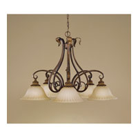 Feiss Sonoma Valley 5 Light Chandelier in Aged Tortoise Shell F2075/5ATS alternative photo thumbnail