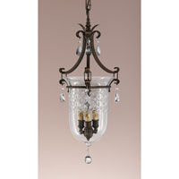 Feiss Salon Maison 8 Light Hall Chandelier in Aged Tortoise Shell F2227/3ATS
