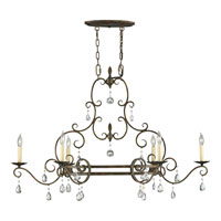 Feiss F2304/6MBZ Chateau 6 Light 22 inch Mocha Bronze Chandelier Ceiling Light alternative photo thumbnail