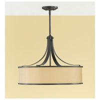 Feiss Casual Luxury 4 Light Chandelier in Dark Bronze F2343/4DBZ