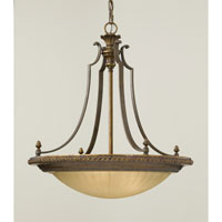 Feiss Kelham Hall 4 Light Chandelier in Firenze Gold and British Bronze F2422/3FG/BRB alternative photo thumbnail