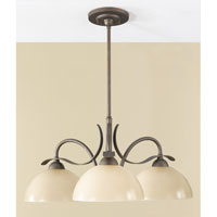 Feiss Kinsey 3 Light Chandelier in Corinthian Bronze F2425/3CB