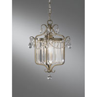Feiss Gianna 1 Light Pendant in Gilded Silver F2473/1GS