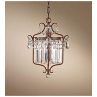 Feiss Gianna Scuro 1 Light Mini Chandelier in Mocha Bronze F2473/1MBZ
