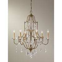 Feiss Valentina 6 Light Chandelier in Oxidized Bronze F2478/6OBZ alternative photo thumbnail