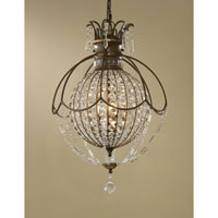 Feiss Bellini 3 Light Chandelier in Oxidized Bronze and British Bronze F2504/3OBZ/BRB