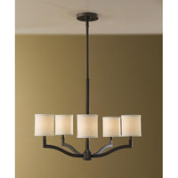 Feiss F2519/5ORB Stelle 5 Light 26 inch Oil Rubbed Bronze Chandelier Ceiling Light alternative photo thumbnail
