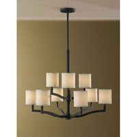 Feiss F2520/6+3ORB Stelle 9 Light 31 inch Oil Rubbed Bronze Chandelier Ceiling Light alternative photo thumbnail
