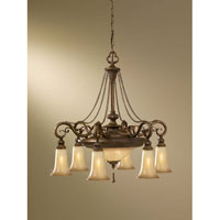 Feiss Celine 8 Light Chandelier in Firenze Silver F2546/6+2FSV