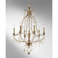 Feiss Simone 6 Light Chandelier in Driftwood F2575/6DRFW alternative photo thumbnail