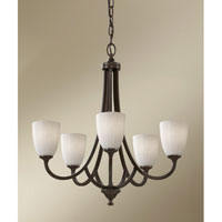 Feiss Perry 5 Light Chandelier in Heritage Bronze F2584/5HTBZ alternative photo thumbnail