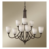 Feiss Perry 9 Light Chandelier in Heritage Bronze F2585/6+3HTBZ