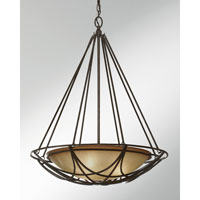 Feiss El Nido 3 Light Pendant in Mocha Bronze F2607/3MBZ