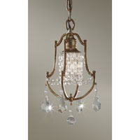 Feiss Valentina 1 Light Mini Chandelier in Oxidized Bronze F2624/1OBZ