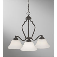 Feiss Beckett 3 Light Chandelier in Oil Rubbed Bronze F2647/3ORB alternative photo thumbnail
