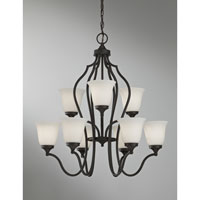 Feiss Beckett 9 Light Chandelier in Oil Rubbed Bronze F2651/6+3ORB alternative photo thumbnail