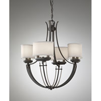 Feiss Brody 8 Light Chandelier in Colonial Iron F2676/8CI alternative photo thumbnail