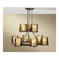 Feiss Aris 9 Light Chandelier in Stardust F2687/6+3RBZ alternative photo thumbnail