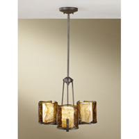 Feiss Aris 3 Light Chandelier in Roman Bronze F2692/3RBZ