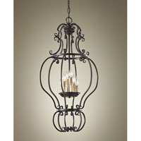 Feiss Barnaby 6 Light Chandelier in Liberty Bronze F2714/6LBR